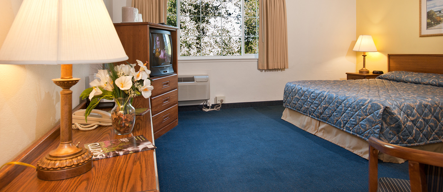 THE JACKSON LODGE OFFERS COMFORTABLE HOTEL ROOMS IN JACKSON CALIFORNIA
